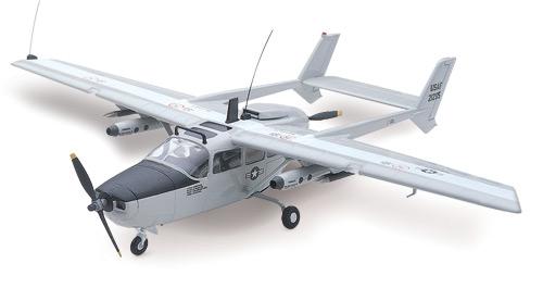 Cessna O2A Skymaster Aircraft Testors 000514