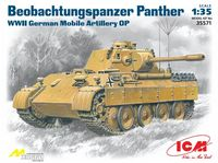 Beobachtungspanzer Panther WWII German Mobile Artilery OP