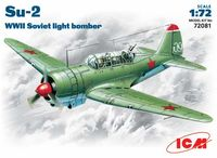Su-2 WWII Soviet light bomber