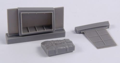 Beaufighter Mk.IF Dinghy Box and Access Panel  REVELL - Image 1