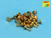 Turned imitation of Hexagon bolts x30 pcs