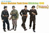Ghost Division (7th Panzer Division) Tank Crew (Blitzkrieg 1940)