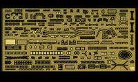 QG38  IJN Light Cruiser Agano Class Detail Up Parts Basic B