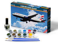 A-320-200 British Airways - Model Set
