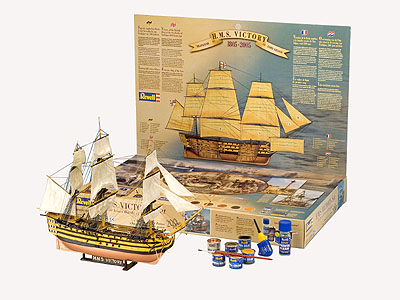 Hms Victory Gift Set Revell 05758