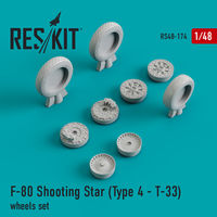 F-80 Shooting Star (Type 4 - Т-33) wheels set
