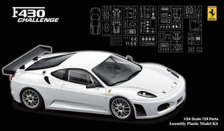 Ferrari F430 Challenge Racing on