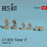 "LTV A-7 ""Corsair II""D wheels set - Image 1"