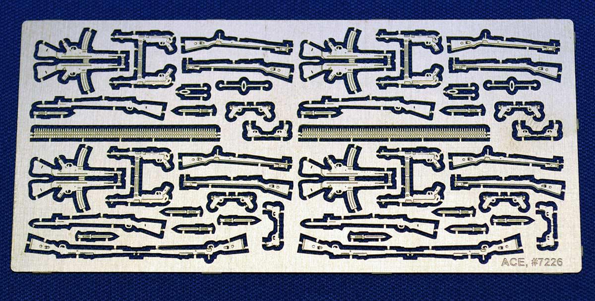 WW2 German hand Weapons set ACE 7226