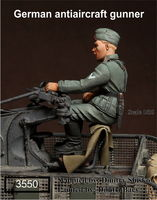 German antiaircraft gunner - Image 1