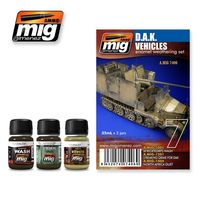 A.MIG 7406 D.A.K. Vehicles - Enamel Weathering Set