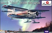 Antonov An-2 Colt with ski gear - Image 1