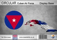 Circular Cuban Air Force 200mm