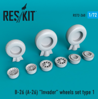 B-26 (A-26)  Invader wheels set type 1 - Image 1