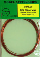 Fine copper wire Diameter: 0.55, 0.60