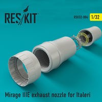 Mirage IIIE exhaust nozzle for Italeri - Image 1