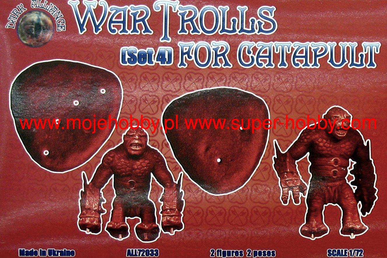 Dark Alliance 72033 War Trolls for catapult Set 4-1:72