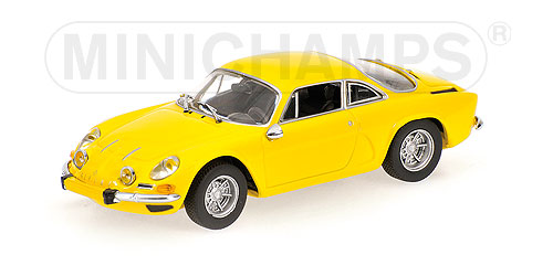 1:43 Minichamps Renault Alpine a110 1971 Yellow