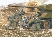 20th Waffen Grenadier Division, Baltic States 1944 (4 Figures Set)