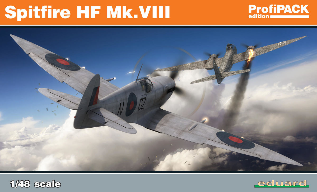 Eduard 8287 Spitfire HF Mk VIII