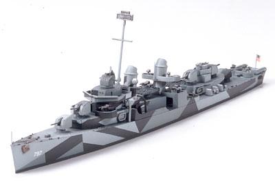 U S Navy Fletcher Class Destroyer DD-797 Cushing