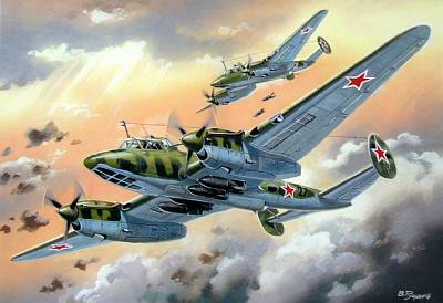 Soviet dive bomber Pe-2 with sistem FT (SERIE 87) - Image 1