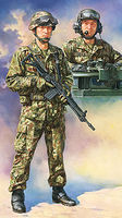 JAPAN GROUND SELF DEFENSE FORCE TANK CREW SET