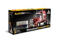 International Trucks and Trailers Set