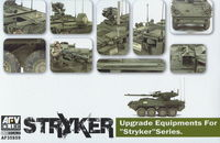 Trumpeter Black Dog 1//35 US M1126 Stryker WIN-T Inc.1 Set w//Equipment T35145