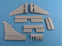 Sea Harrier F/A.2 control surfaces for Airfix - Image 1