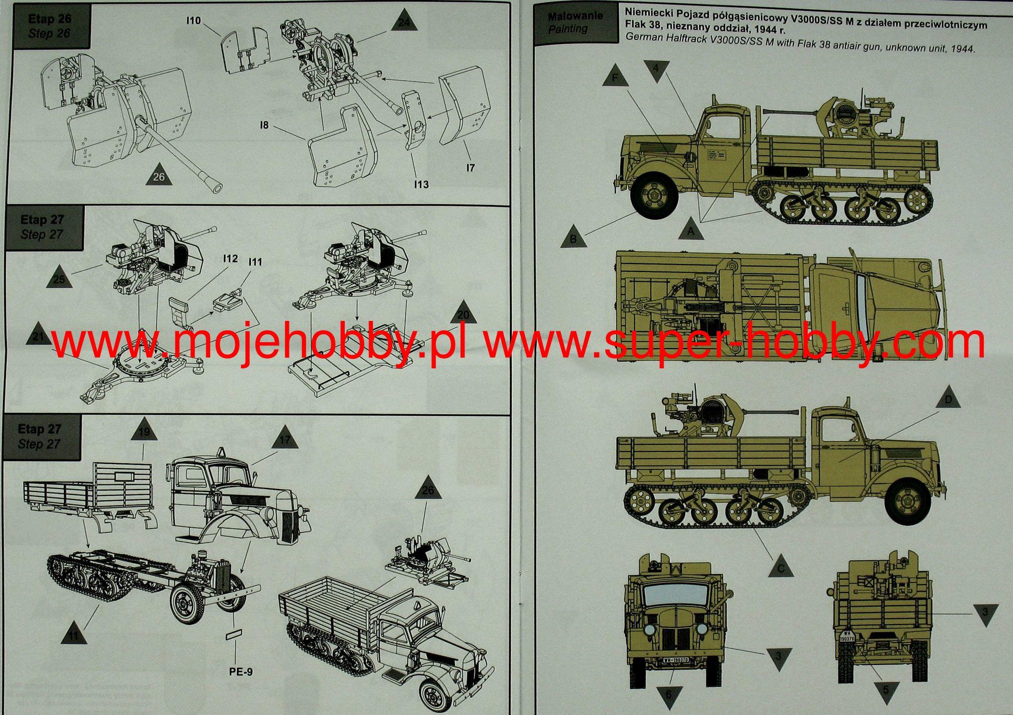 V3000S//SSM Maultier von IBG in 1//72