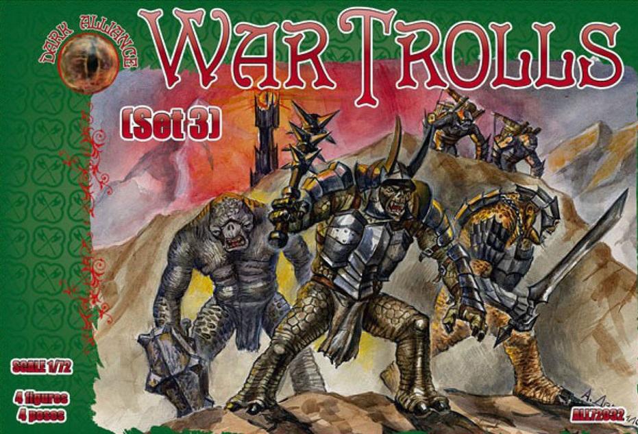 ALLIANCE ALL72032 War Trolls set 3 in 1:72