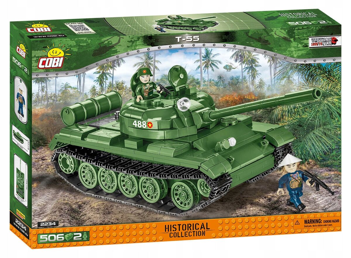 Small Army Vietnam War T-55 506 kl - Image 1