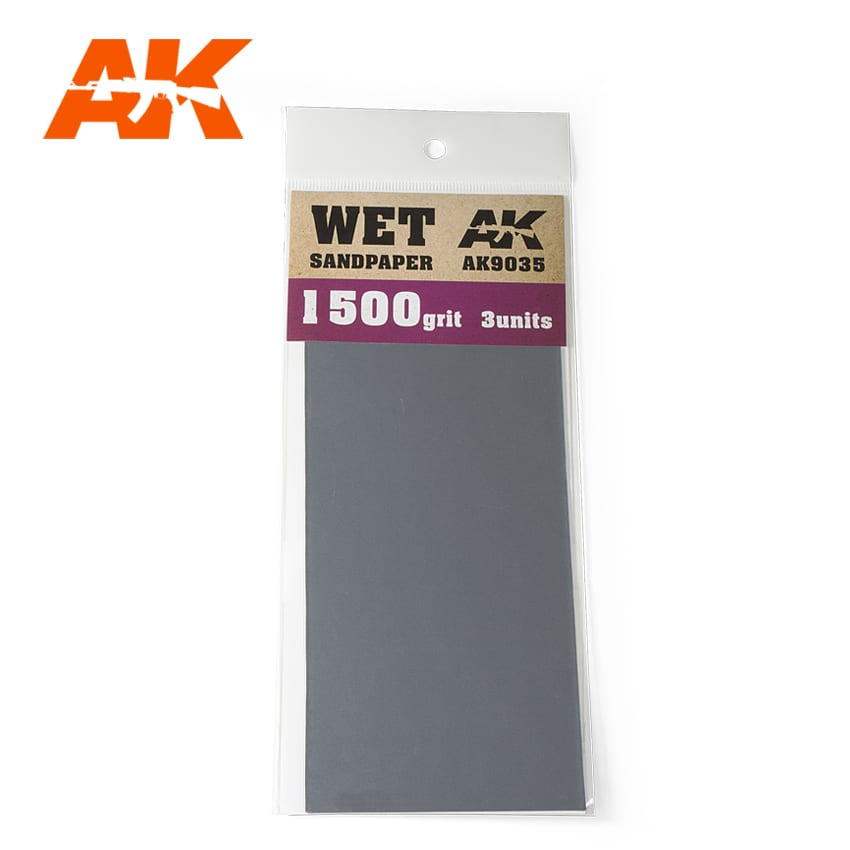 WET SANDPAPER 1500 - Image 1