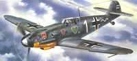 Messerschmitt Bf-109 F-4 German IIWW Fighter - Image 1