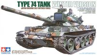 JGSDF Type 74 Winter Tank Version