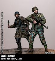 RADO MINIATURES GERMAN MG42 GUNNER 1FJ DIV ITALY 43//45  35027