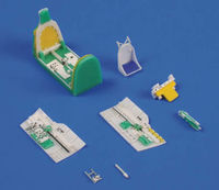 P-40B/C - Interior set for Airfix - Image 1