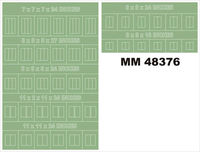 MONTEX MM32141 RAF Standard Fin Flash 1:32