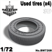 Used tires set (4pcs.) - Image 1
