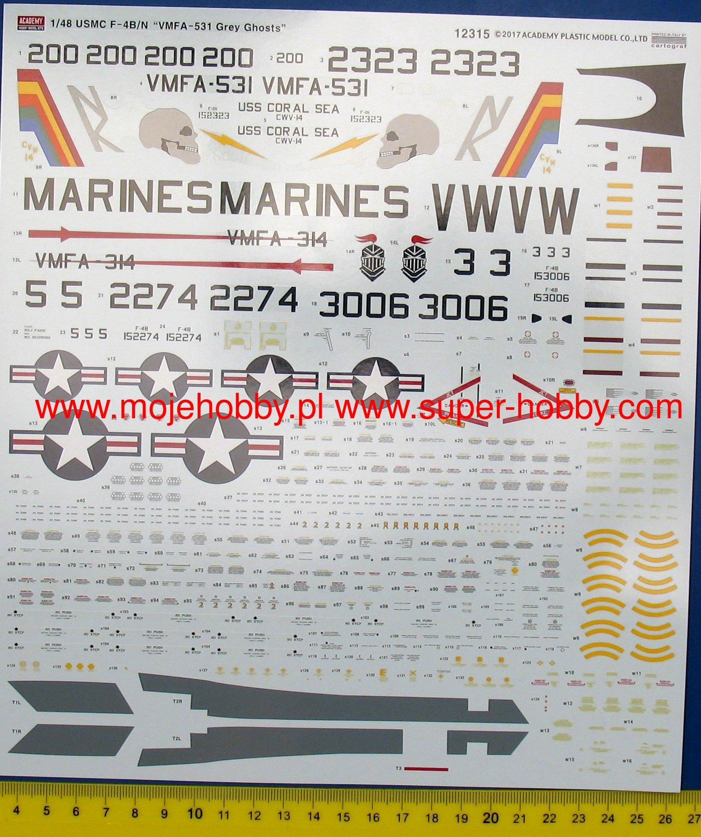 USMC F-4B/N VMFA-531 \