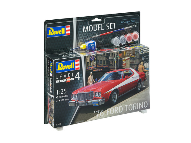 76 Ford Torino  Model Set - Image 1