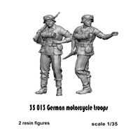 German motorcycle troops - Image 1