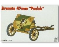 Polish 47mm gun POCISK