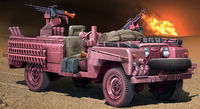 "Land Rover SAS Recon vehicle ""Pink Panther"" - Image 1"