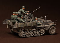 Crew for Sd.Kfz.10/4 fur 2cm FlaK 30 (for Dragon 6739) 6 figures - Image 1