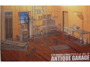 Antique Garage and Tools - Image 1