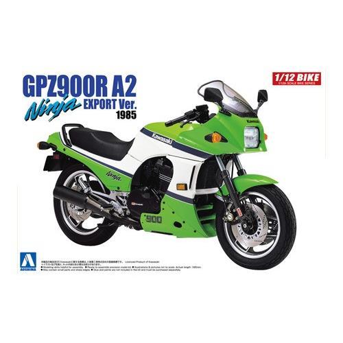aoshima 05397 kawasaki gpz900z ninja a2 export ver 1985