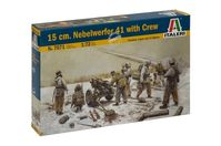 15 cm. NEBELWERFER 41 with Crew