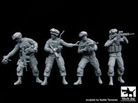 US soldiers special group team big set